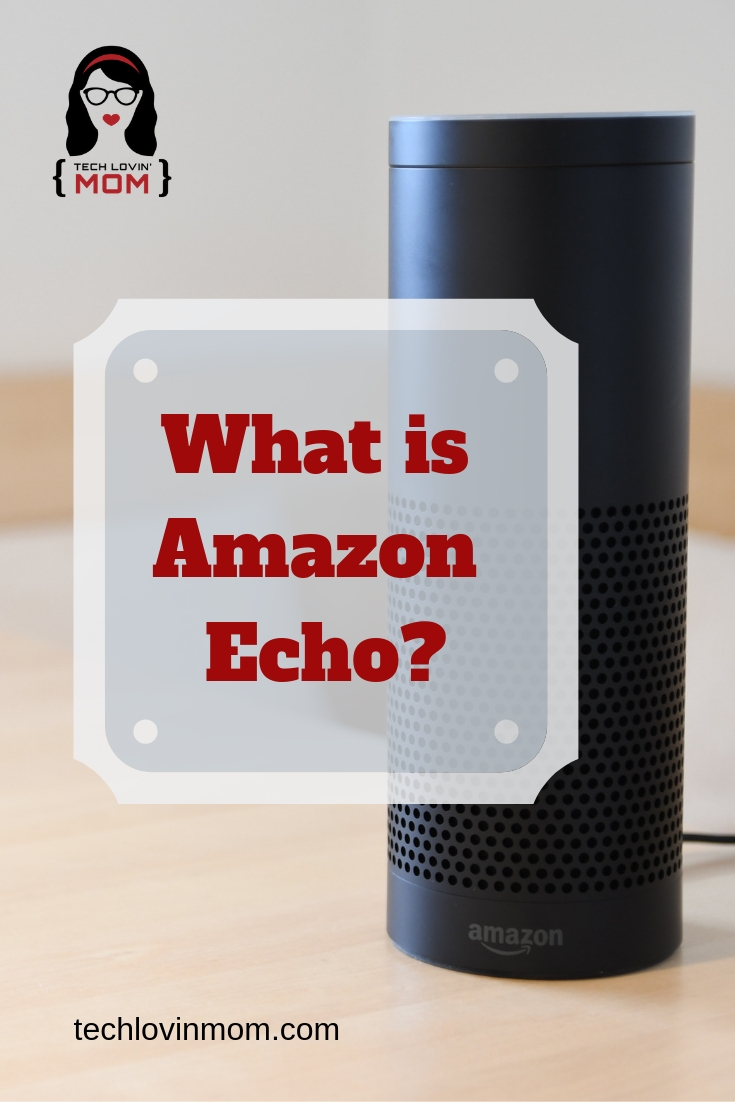 What is Amazon Echo?  Amazon Echo is a hands-free smart speaker controlled by voice commands.