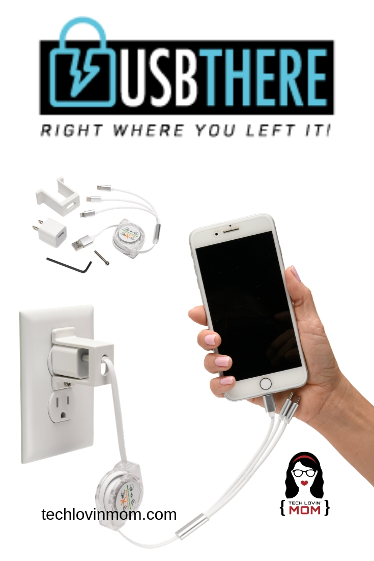 My Kids Keep Stealing My Phone Charger! - USBThere has created a device to lock your USB phone charger to the outlet so that no one can unplug it and take it and it includes a retractable cord.