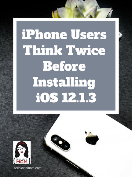 iPhone Users Think Twice Before Installing iOS 12.1.3 - The iOS 12.1.3 update is causing some iPhones to cut off the cellular data and if that is not bad enough, it is also causing WiFi issues as well.