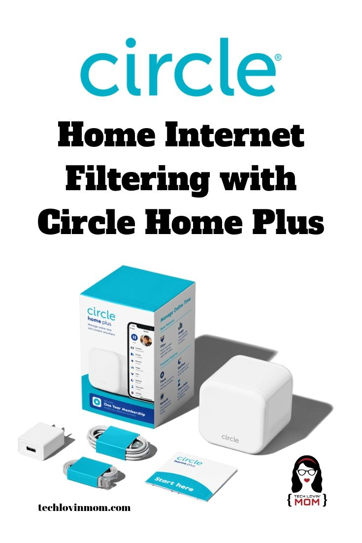 Home Internet Filtering with Circle Home Plus - Circle Home Plus is a device that can be plugged into your existing router to filter every device on your home network.  It also includes some great parental controls.