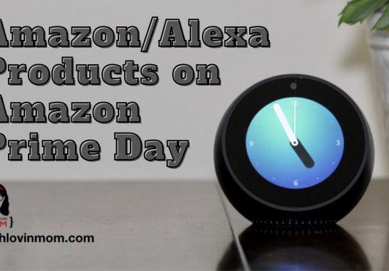 Amazon Alexa Products on Amazon Prime Day